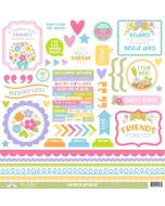 Simply Spring This & That Stickers
