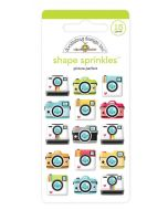Picture Perfect Shape Sprinkles - I Heart Travel - Doodlebug Design