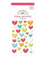 My Happy Place Shape Sprinkles - I Heart Travel - Doodlebug Design