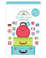 Pack Your Bags Doodle-Pops - I Heart Travel - Doodlebug Design