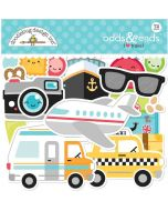 I Heart Travel Odds & Ends - Doodlebug Design
