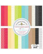 I Heart Travel Petite Print Assortment Pack - Doodlebug Design