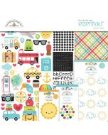 I Heart Travel Essentials Kit - Doodlebug Design