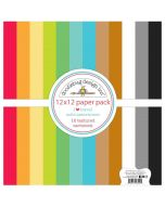 I Heart Travel Textured Cardstock Assortment Pack - Doodlebug Design