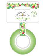 Boughs of Holly Washi Tape - Christmas Magic - Doodlebug Design