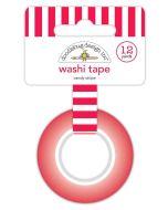 Candy Stripe Washi Tape - Christmas Magic - Doodlebug Design