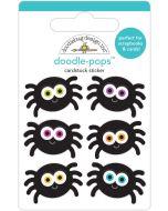 Silly Spiders Doodle-Pops - Candy Carnival - Doodlebug Design