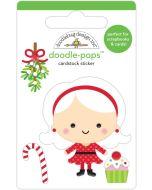 Mrs. Claus Doodle-Pops - Christmas Magic - Doodlebug Design
