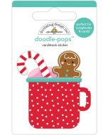 Hot Cocoa Doodle-Pops - Christmas Magic - Doodlebug Design
