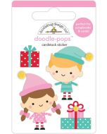 Santa's Helpers Doodle-Pops - Christmas Magic - Doodlebug Design