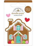 Cookie Cottage Doodle-Pops - Christmas Magic - Doodlebug Design