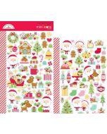 Christmas Magic Mini Icons Sticker - Doodlebug Design