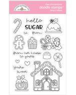 Santa's Sweets Doodle Stamps - Christmas Magic - Doodlebug Design