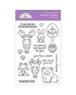 Forest Friends Doodle Stamps - Winter Wonderland - Doodlebug Design