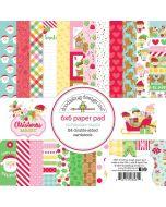 "Christmas Magic 6"" x 6"" Paper Pad - Doodlebug Design"