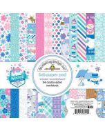 "Winter Wonderland 6"" x 6"" Paper Pad- Doodlebug Design"