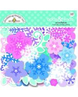 Winter Wonderland Snowflakes Odds & Ends - Doodlebug Design *