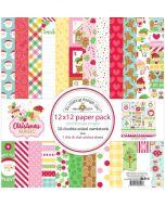 "Christmas Magic 12"" x 12"" Paper Pack - Doodlebug Design"