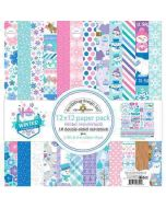 "Winter Wonderland 12"" x 12"" Paper Pack - Doodlebug Design"