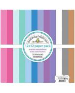 Winter Wonderland Textured Cardstock Assortment Pack - Doodlebug Design