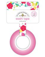 Pretty Posies Washi Tape - Love Notes - Doodlebug Design