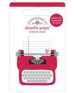 Love Story Doodle-Pops - Love Notes - Doodlebug Design