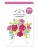 Sending Love Doodle-Pops - Love Notes - Doodlebug Design