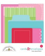 Love Cards & Envelopes - Doodlebug Design