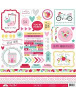Love Notes This & That Stickers - Doodlebug Design