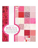 """Count the Ways 12"""" x 12"""" Paper Pad - Bo Bunny"""