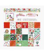 "Merry Little Christmas 12"" x 12"" Paper Pad - Pebbles"