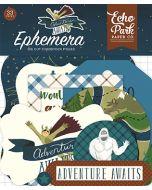 Echo Park Ephemera - Adventure Awaits