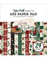 "A Cozy Christmas 6"" x 6"" Paper Pad - Echo Park"