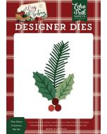 Tree Farm Greenery Die Set - A Cozy Christmas - Echo Park