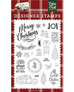 Let's Get Cozy Stamp Set - A Cozy Christmas - Echo Park