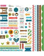 Doohickey Cardstock Stickers