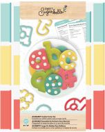 Sweet Sugarbelle alphabet Cookie cutters