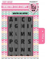 Animation Stamps ABC Stamp Set