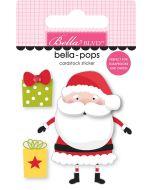 S is For Santa Bella-Pops - Santa Squad - Bella Blvd