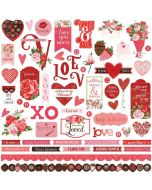 Be Mine Sticker Sheet - Becky Fleck Moore - PhotoPlay