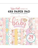 Hello Baby Girl Paper Pad