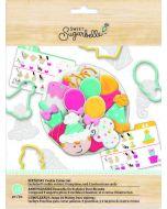 Sweet Sugarbelle Birthday Cookie Cutters