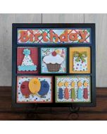 Birthday Shadowbox Example 1