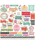 PhotoPlay Belle Fleur Element Stickers