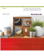 Bright Corrugated Cardstock Sheets