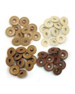 We R Memory Keepers Wide Eyelets - Brown