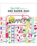 "Best Summer Ever 6"" x 6"" Paper Pad - Echo Park"