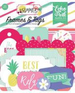 Best Summer Ever Frames & Tags - Echo Park