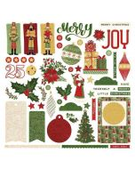 Christmas Memories Card Sticker - Becky Fleck Moore - PhotoPlay
