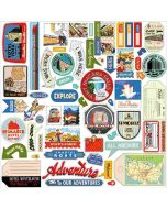 All Aboard Element Stickers - Steven Duncan - Carta Bella
